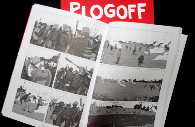 Plogoff de Delphine Le Lay et Alexis Horellou, affrontements.