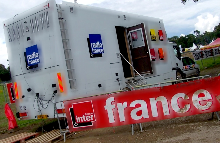 Vieilles Charrues 2007 - Car régie Radio France