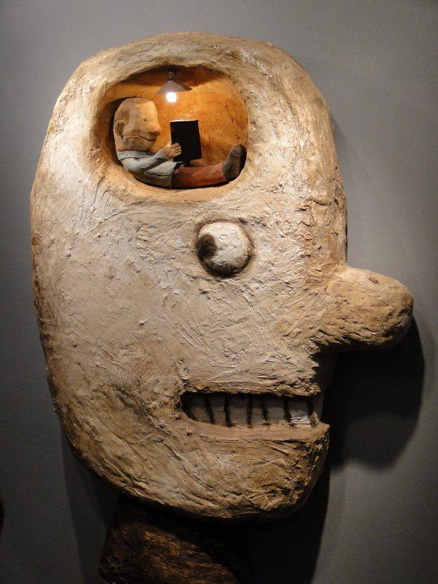 Les œuvres des Chats Pelés ont séduit bon nombre de visiteurs de l'exposition jeunesse.