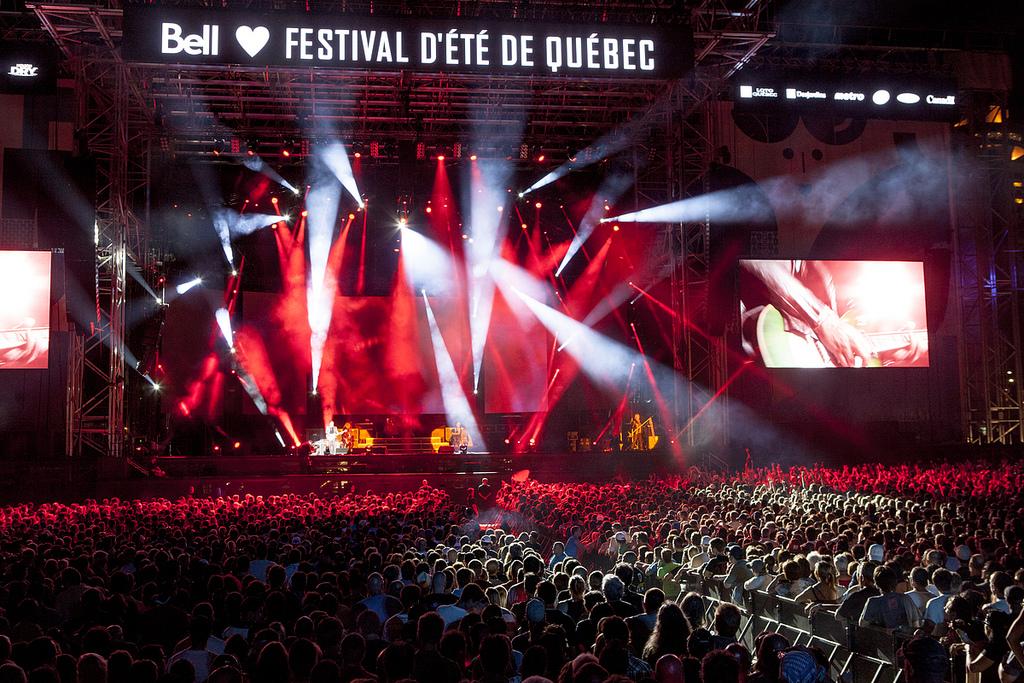 Def Leppard Festival d'été de Québec 13 juillet 2013 Scène Bell des plaines d'Abraham (Crédit : Renaud Philippe)