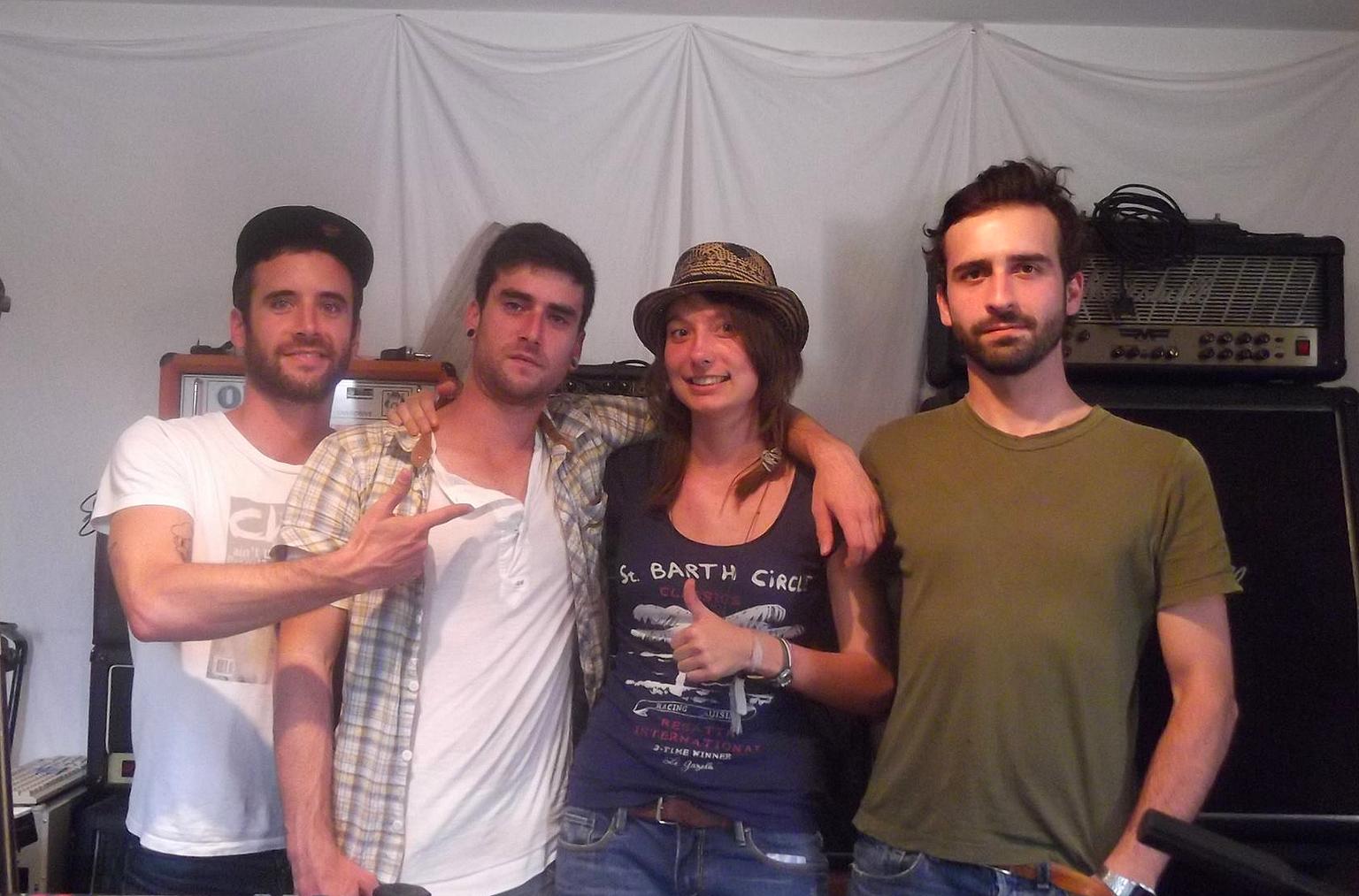 Encore! band interview Talents Frais- La Déviation