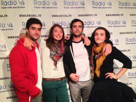 Encore! à Radio VL pour Talents Frais - La Déviation