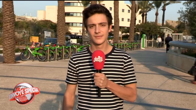 Martin Weill - Reporter pour Le Petit Journal - Canal +