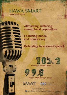 Hawa Smart est la seule radio syrienne de l'opposition qui réussit à émettre sur la bande FM sur le tout le territoire - La Déviation