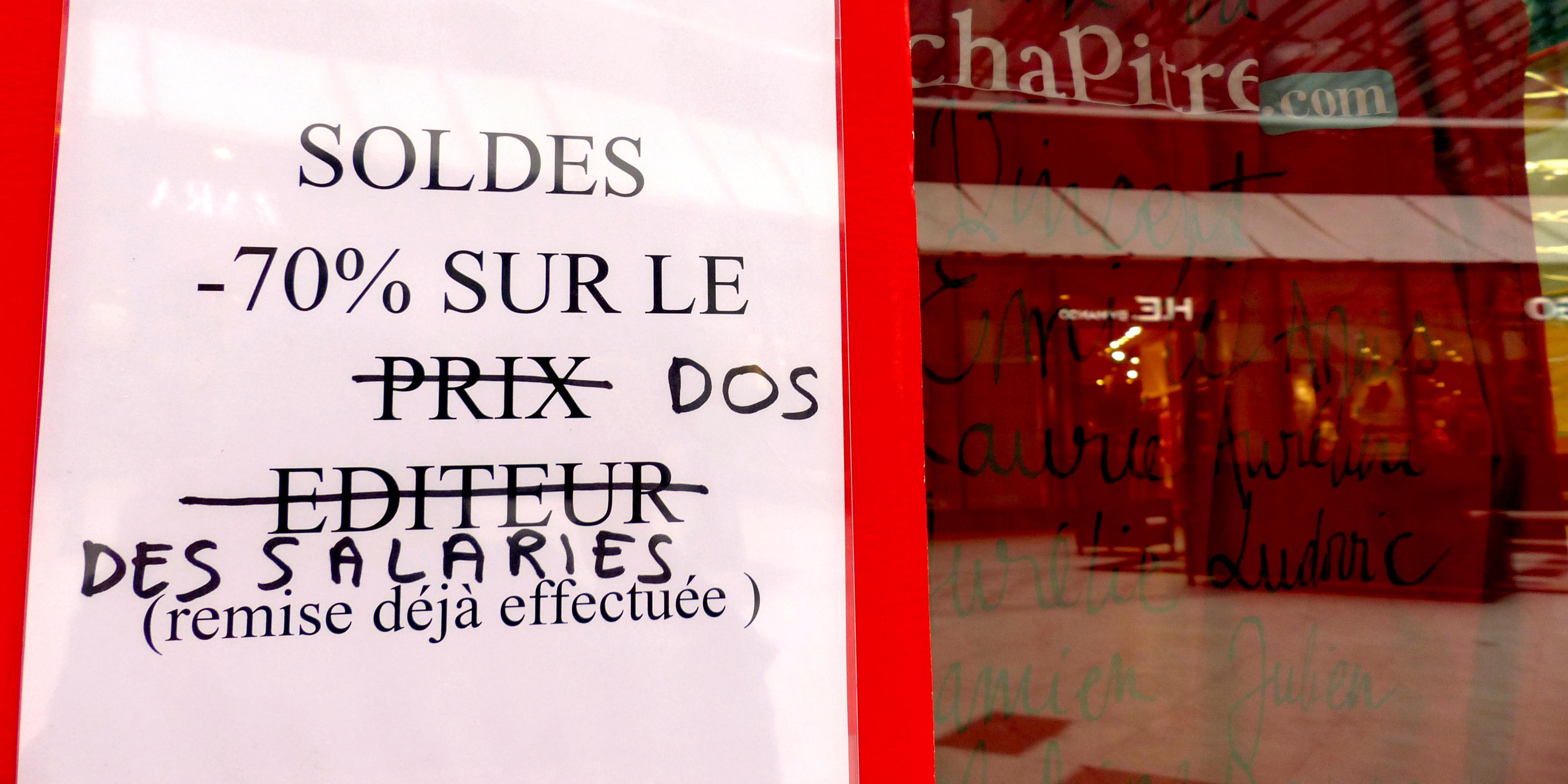 Occupation des librairies Chapitre - La Déviation