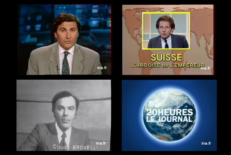 Journaux télévisés 12 avril et marronnier - La Déviation