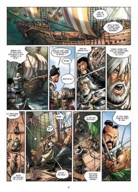 Elfes Tome 7 - éditions Soleil - planche 3 - La Déviation