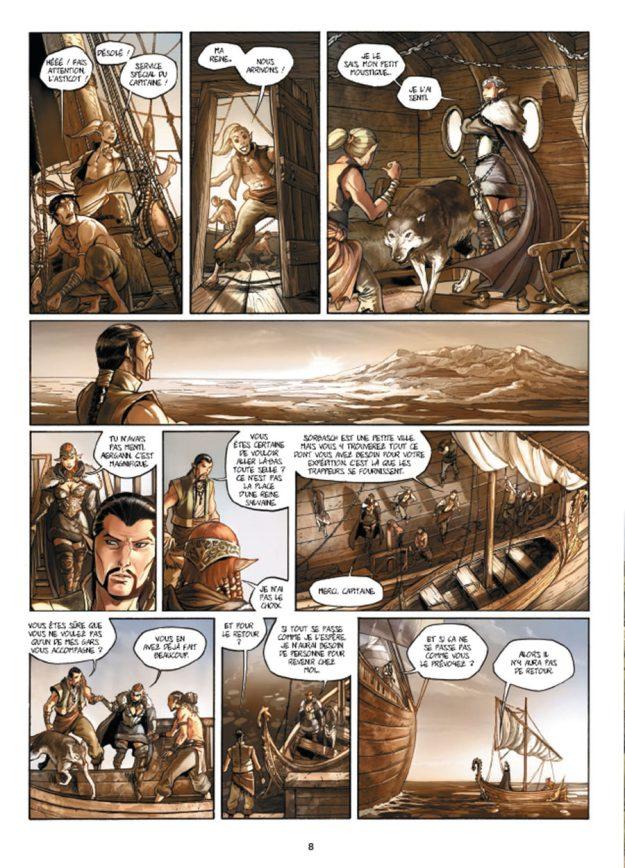Elfes Tome 7 - éditions Soleil - planche 6 - La Déviation