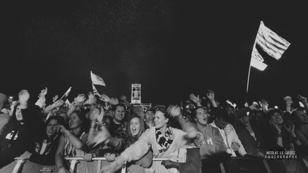 Festival du Bout du Monde 2014 public noir et blanc - C Nicolas Le Gruiec - La Déviation