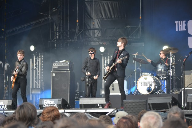 The Strypes - Fête du Bruit 2014 - La Déviation