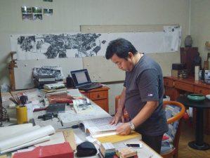 Li Zhiwu. Crédits Yohan Radomski