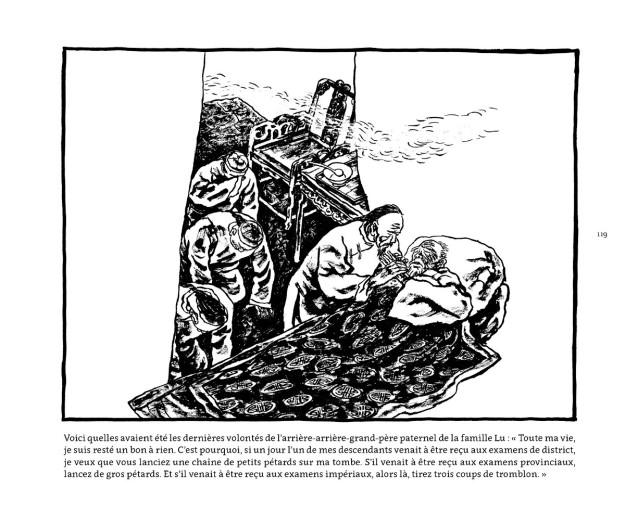 « Au pays du cerf Blanc », Bailuyuan,  page 119 - La Déviation