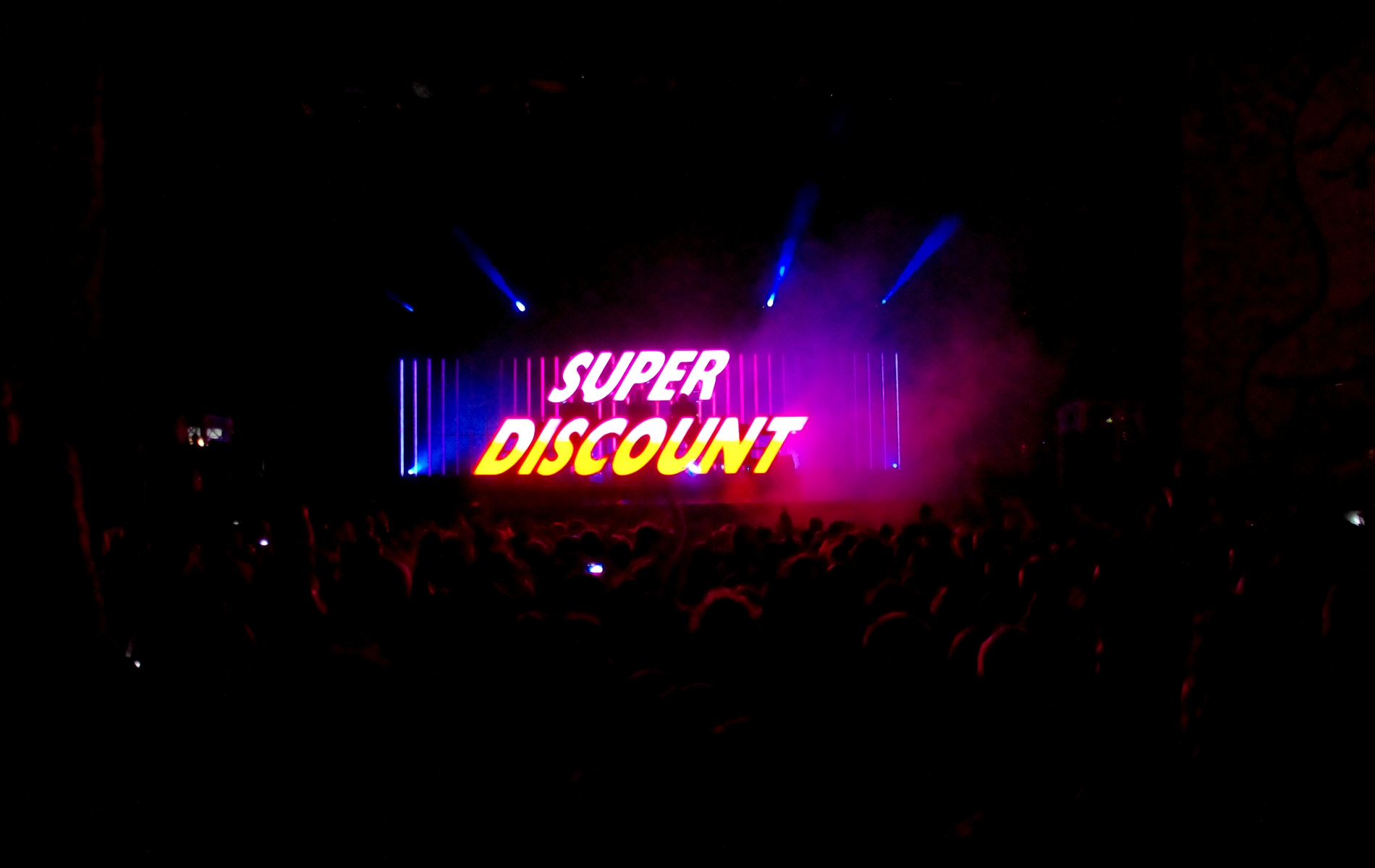 Super Discount 3 / Etienne De Crecy - Art Rock 2015 - Sylvain Ernault - La Déviation