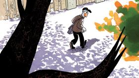 Les Petits riens de Lewis Trondheim tome 7 - Un arbre en furie - La Déviation
