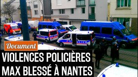 160324 - Violences policières Max Nantes Rakesly