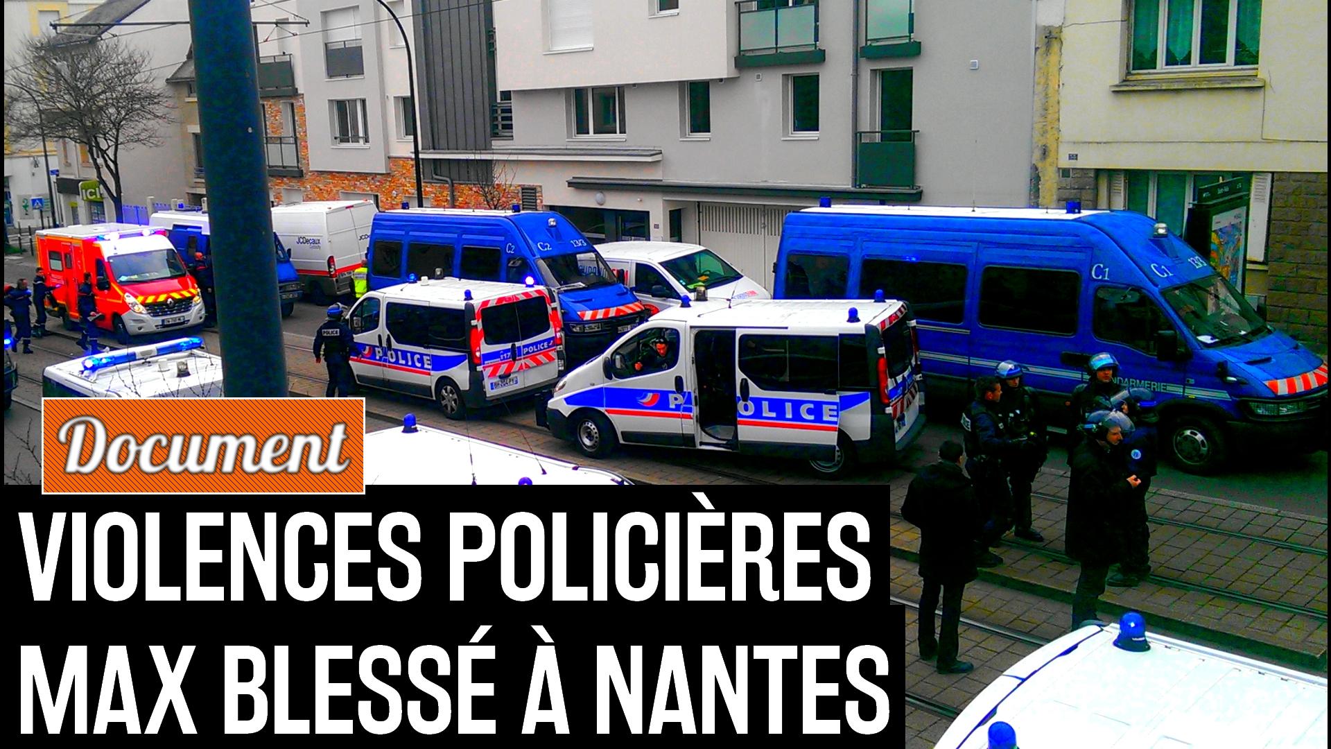 rassemblement policier nantes