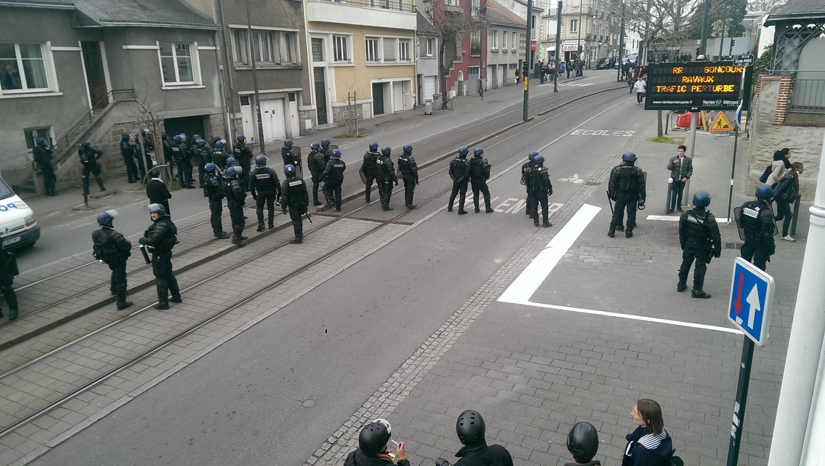 Manifestation du 24 à Nantes : nouvelles images accablantes pour la police