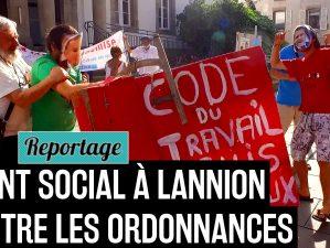 170619 - Nuit Debout Lannion lance le Front social