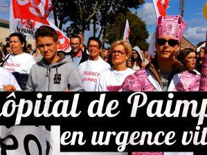 Manifestation pour le maintien des urgences de Paimpol le 9 septembre 2017