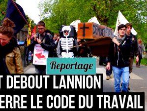 160517 - Lannion enterre le code du travail