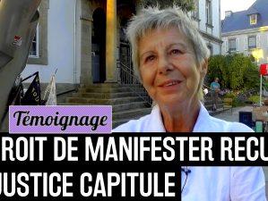 170706 - Mick Nuit Debout Lannion répression policière