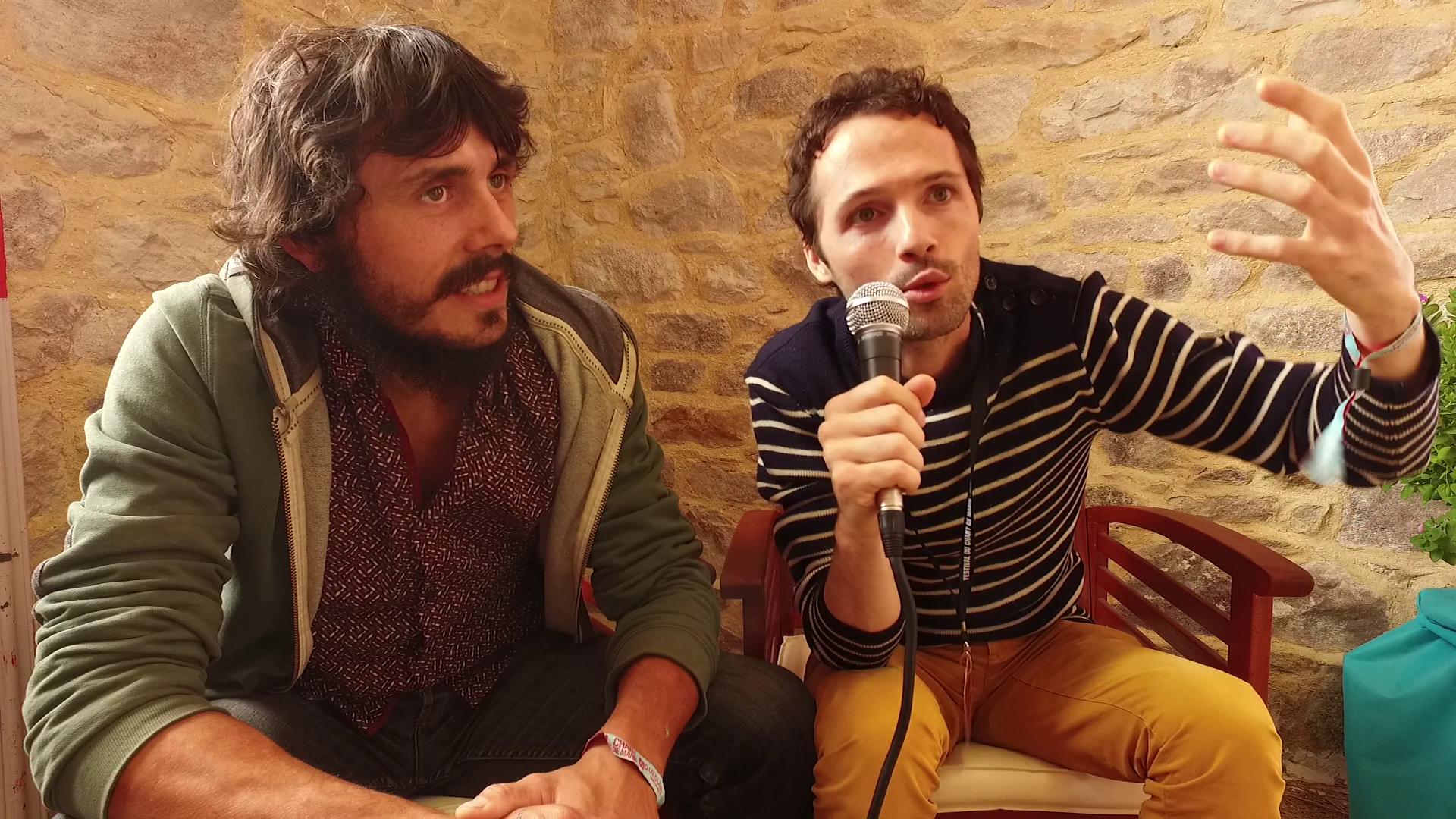 Interview de NIrmaan au festival du Chant de Marin 2017 - La Déviation