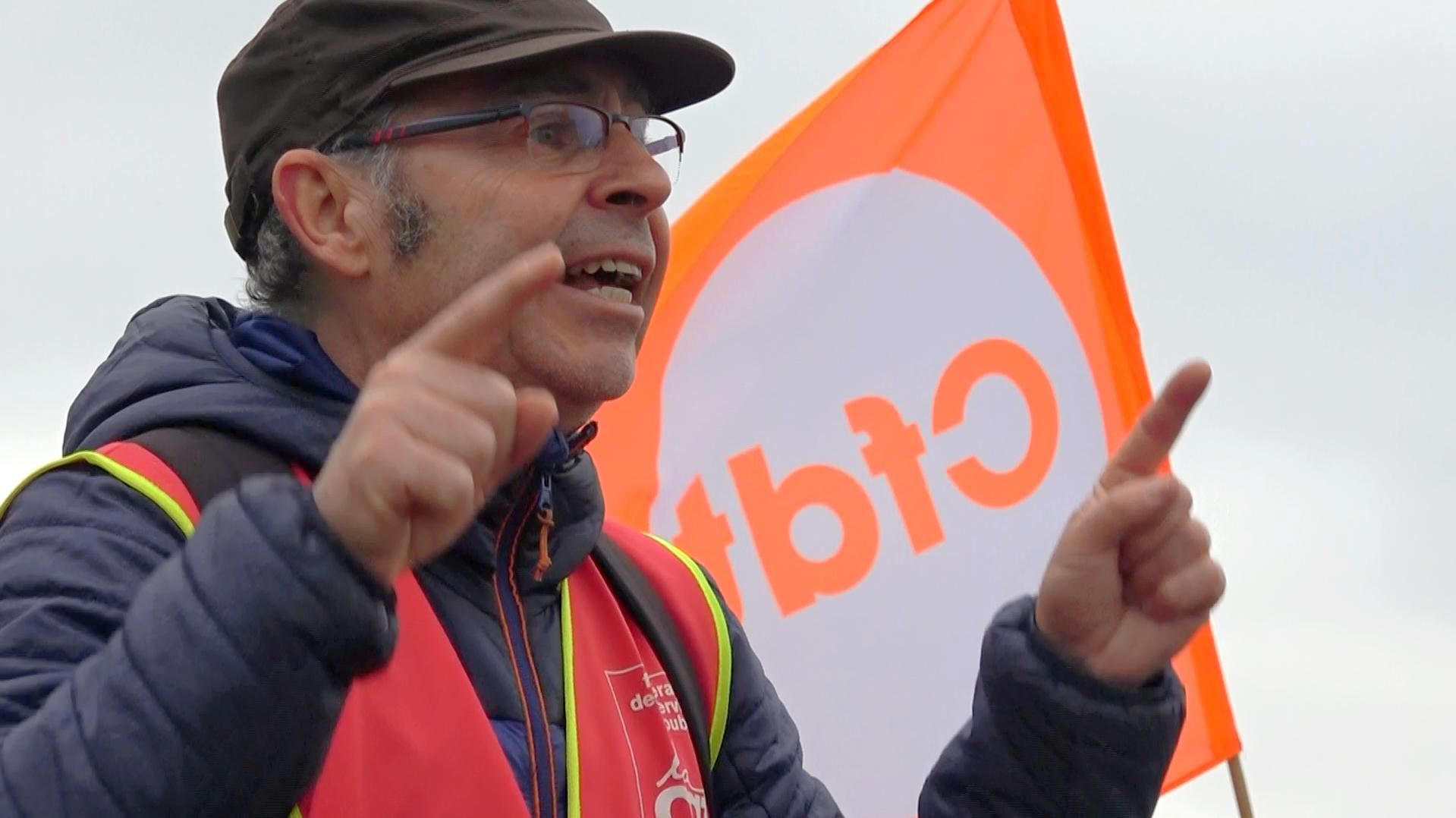Yann Guéguen mène la grève à Lannion Trégor Communauté - La Déviation