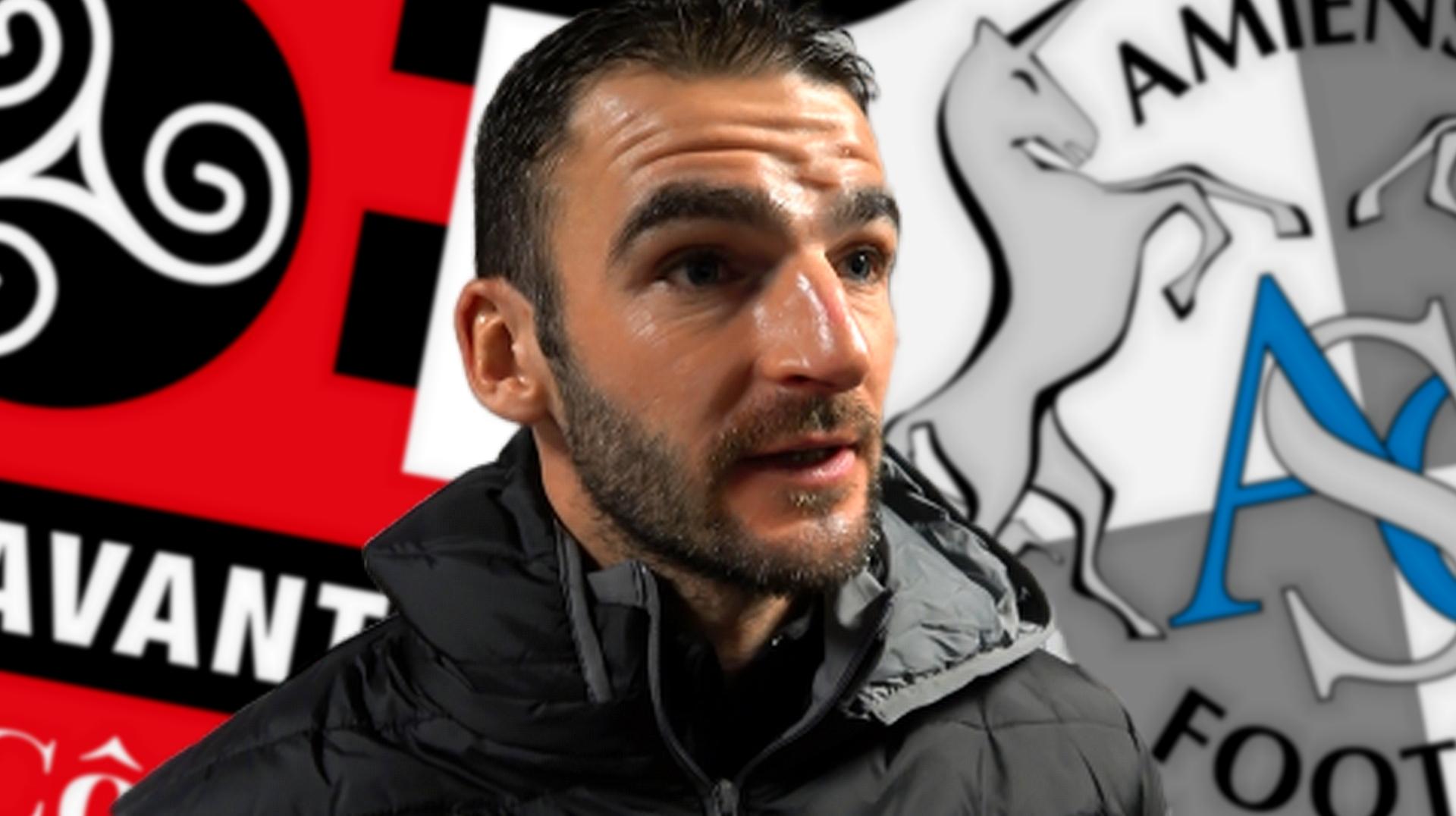 Interview de Christophe Kerbrat après la défaite de Guingamp face à Amiens le 8 décembre 2019 - La Déviation