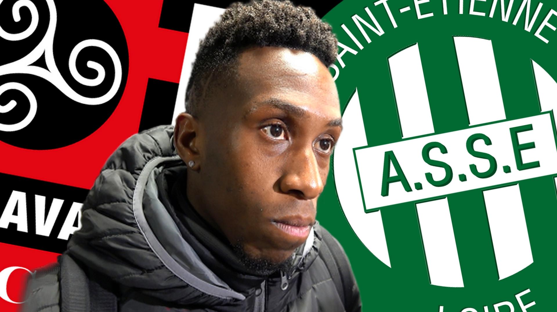 Interview de Yeni N'Gbakoto après la défaite de Guingamp face à Saint-Etienne le 12 janvier 2019 - La Déviation