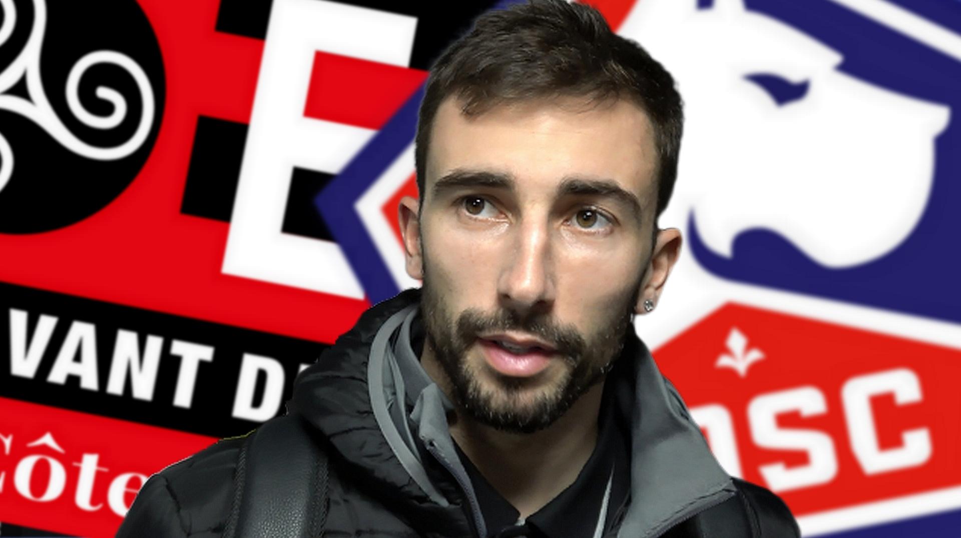 Interview de Nicolas Benezet après la défaite de Guingamp face à Lille le 10 février 2019 - La Déviation