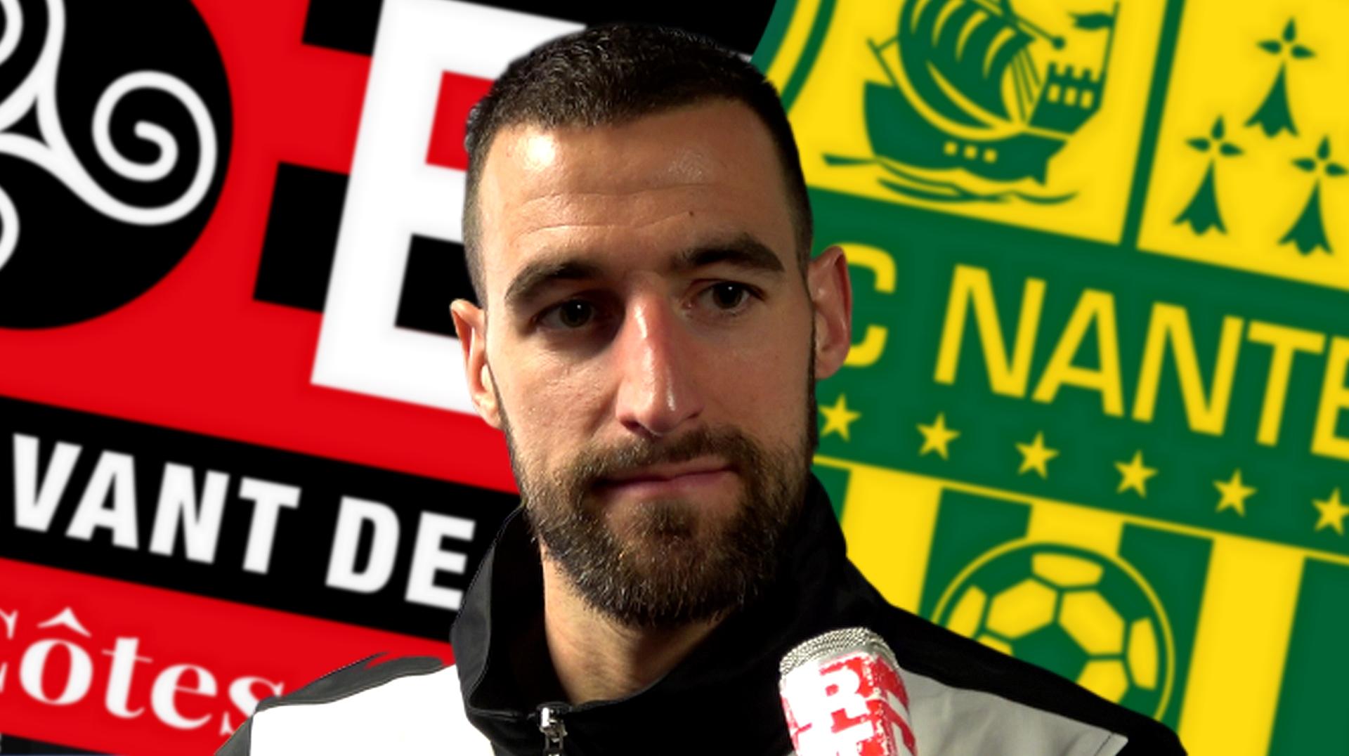 Interview de Lucas Deaux après Guingamp - Nantes le 3 mars 2019 - La Déviation