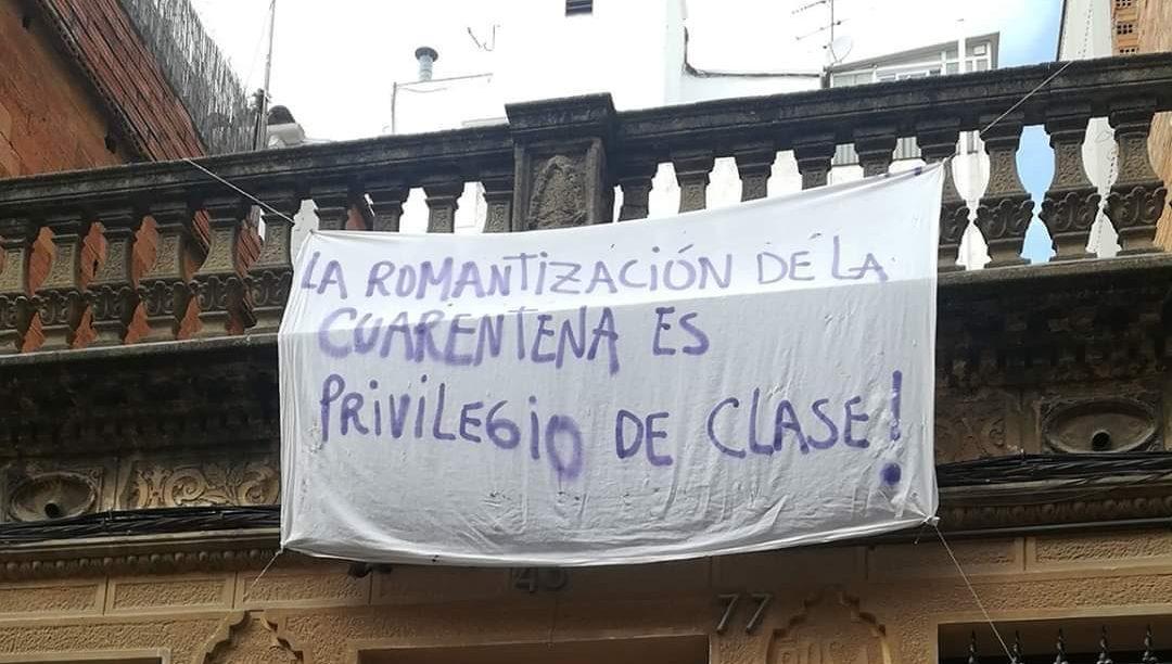 200315 - La romantizacion de la cuarentena es privilegio de clase by Jay Barros - La Déviation