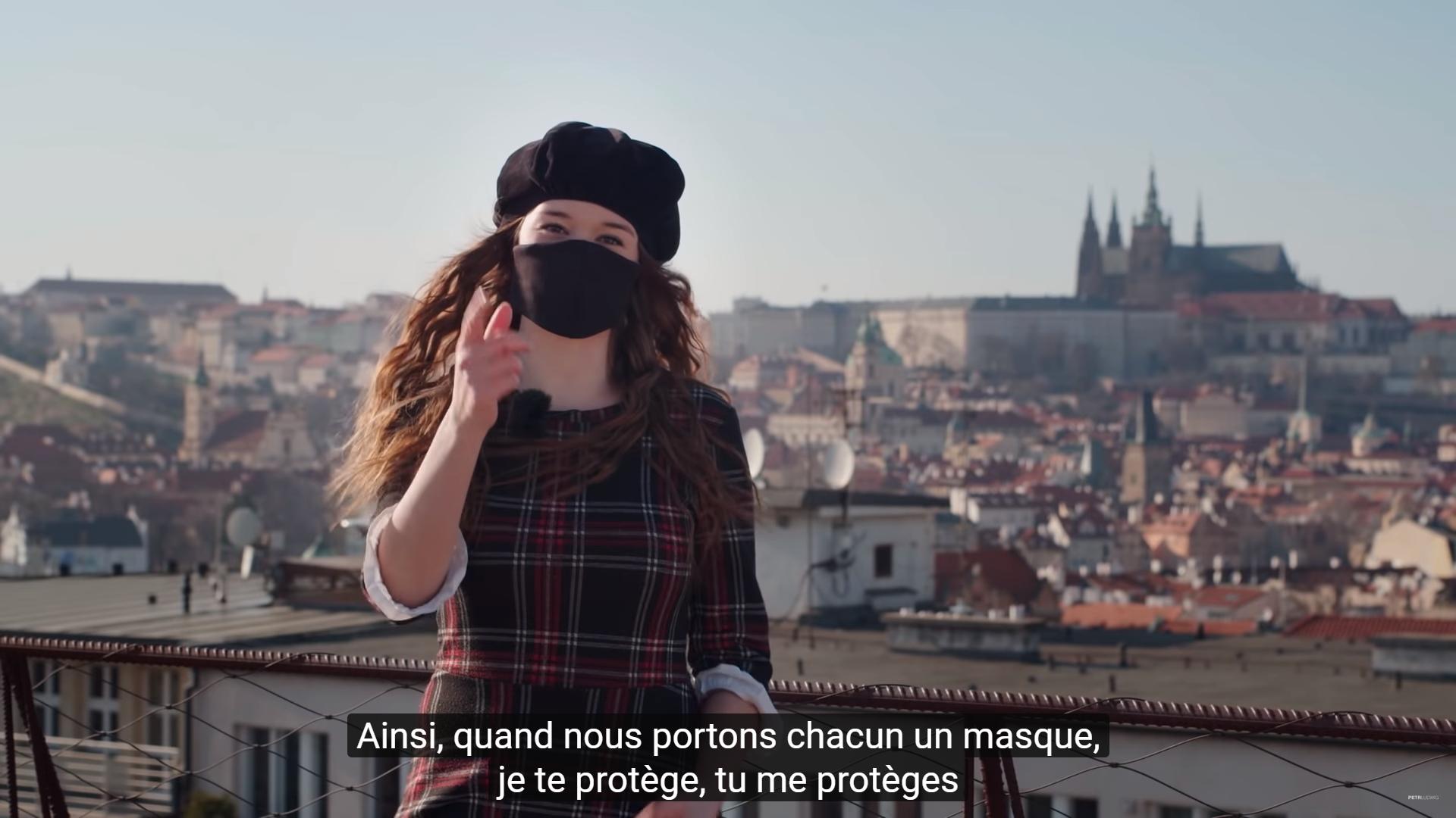 200407 - Campagne masks4all by compte Youtube Petr Ludwig Konec prokrastinace - La Déviation