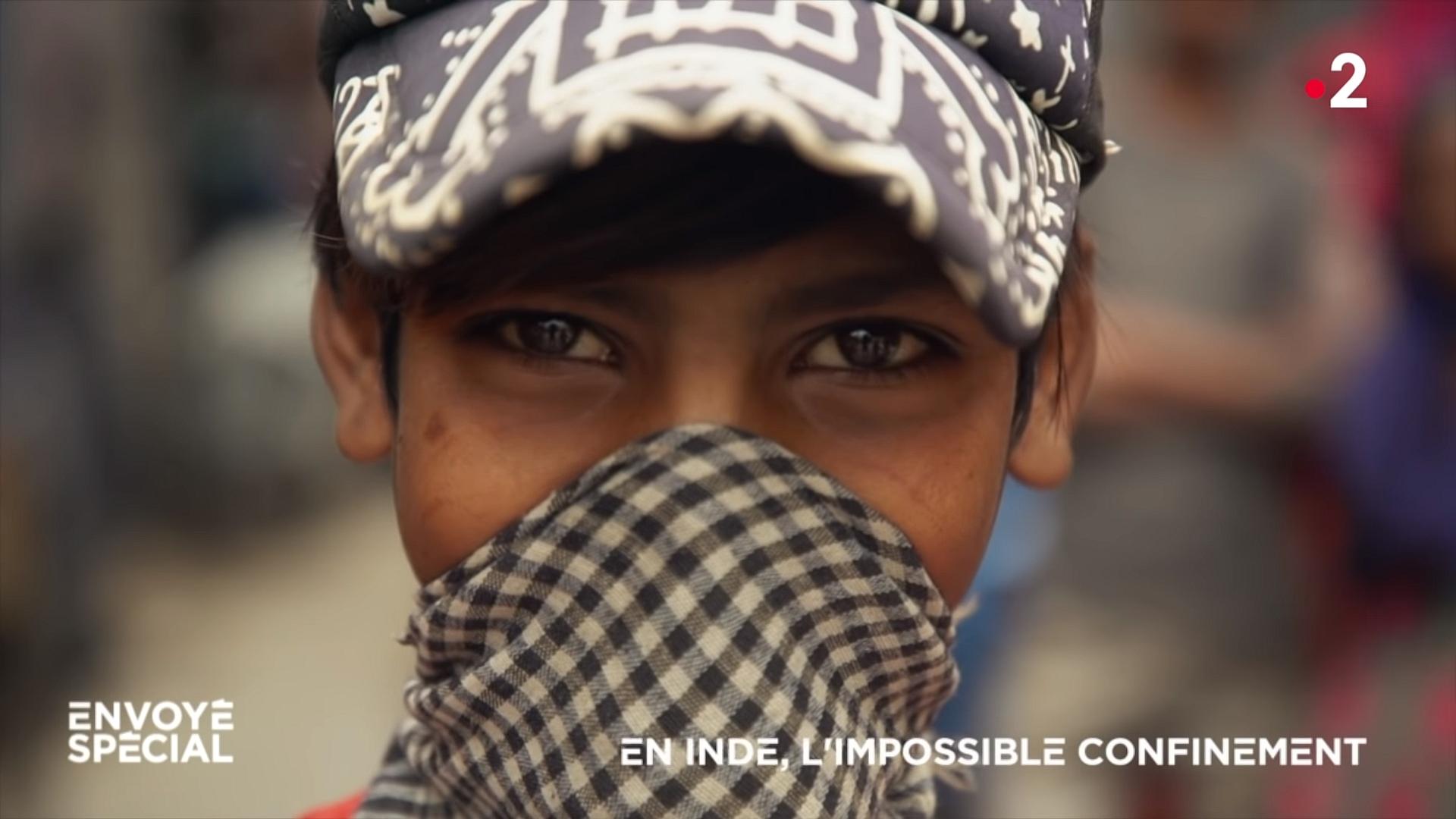 200419 - En Inde l'impossible confinement Envoyé spécial - La Déviation
