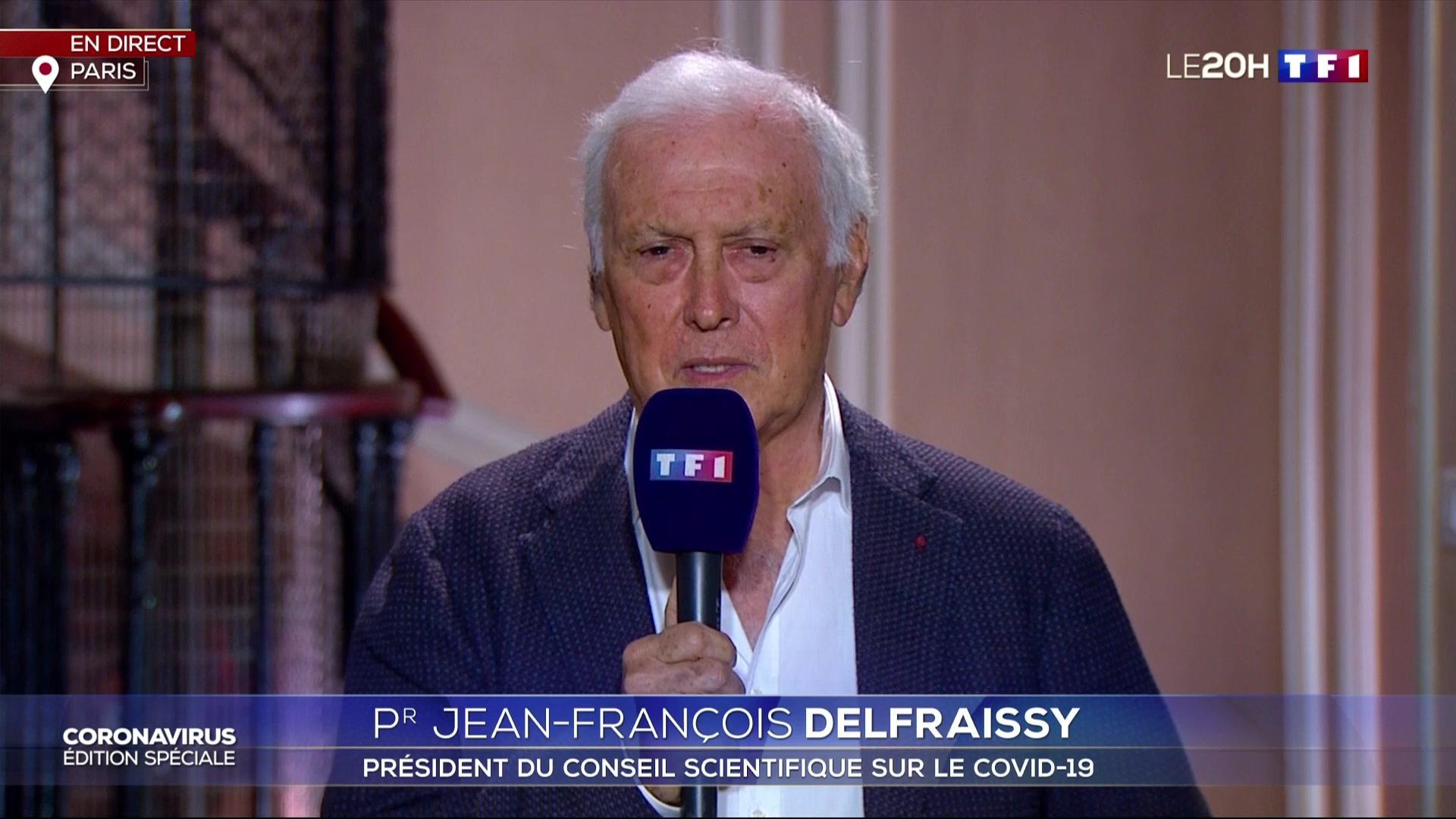 200419 - Pr Jean-François Delfraissy président du Conseil scientifique Covid19 by TF1 - La Dévaition
