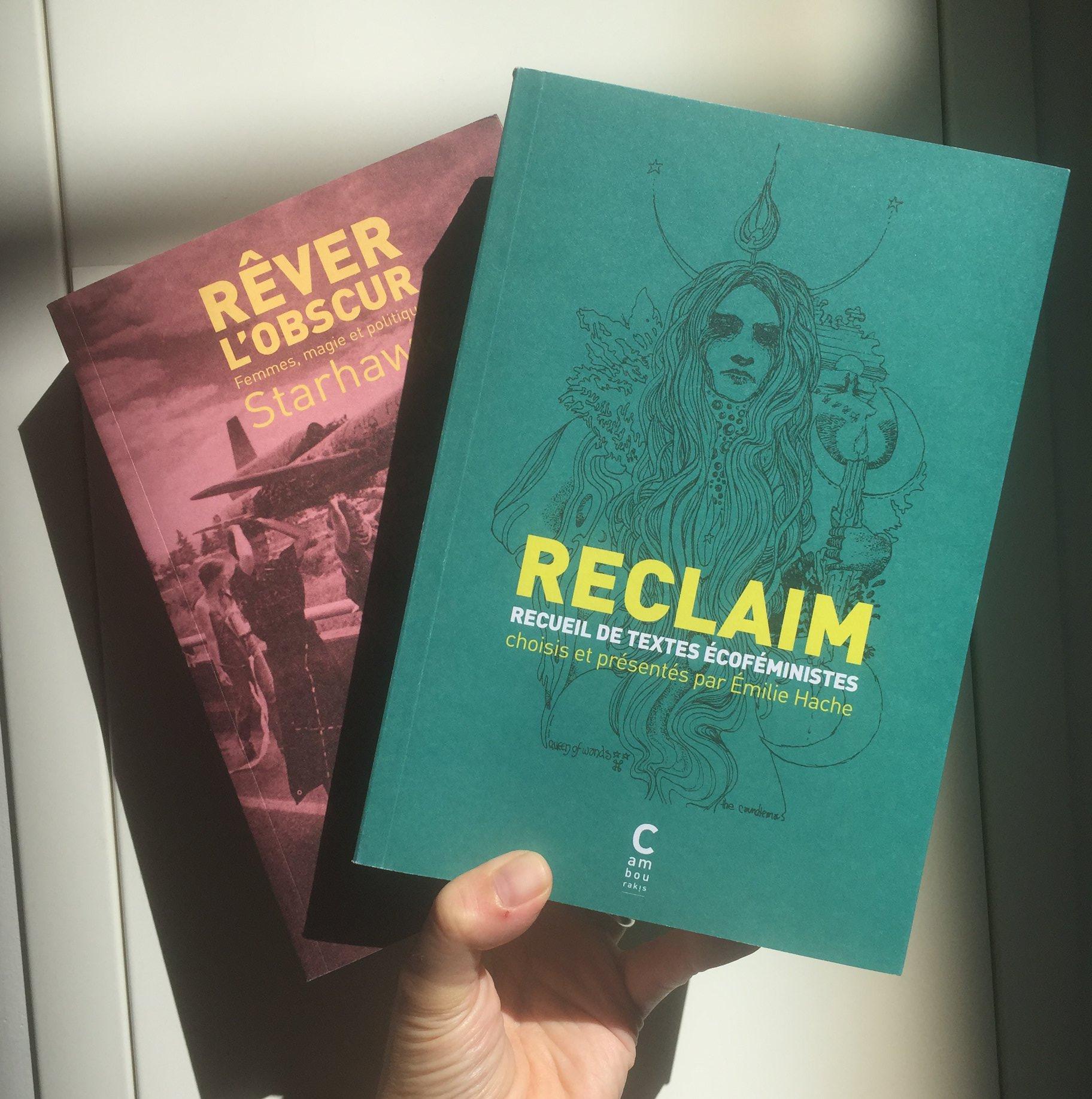 200419 - Reclaim Recueil de textes écoféministes choisis par Emilie Hache aux éditions Cambourakis - La Déviation (2)