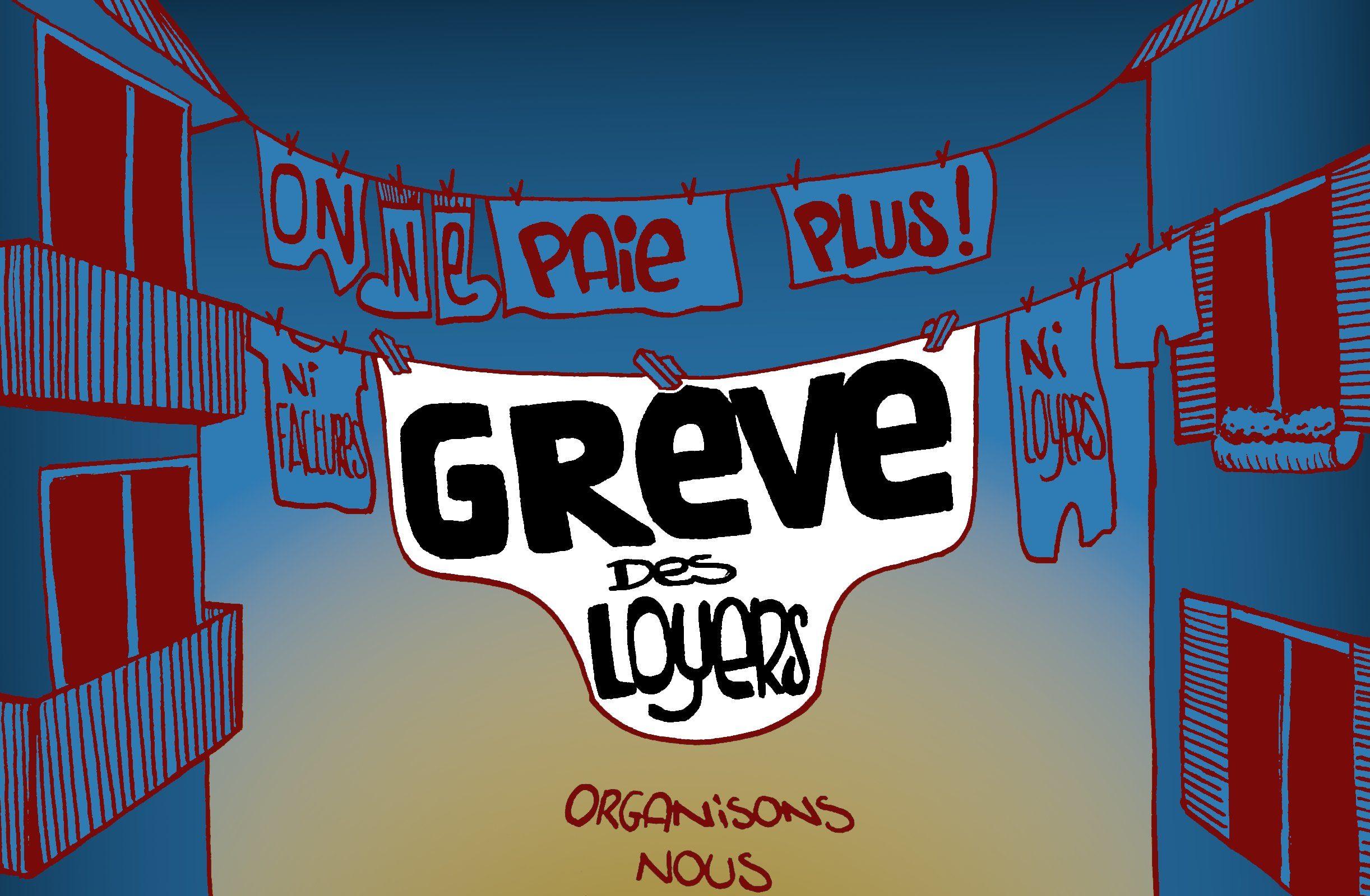 200423 - Grève des loyers Brest Bourrasque Info - La Déviation