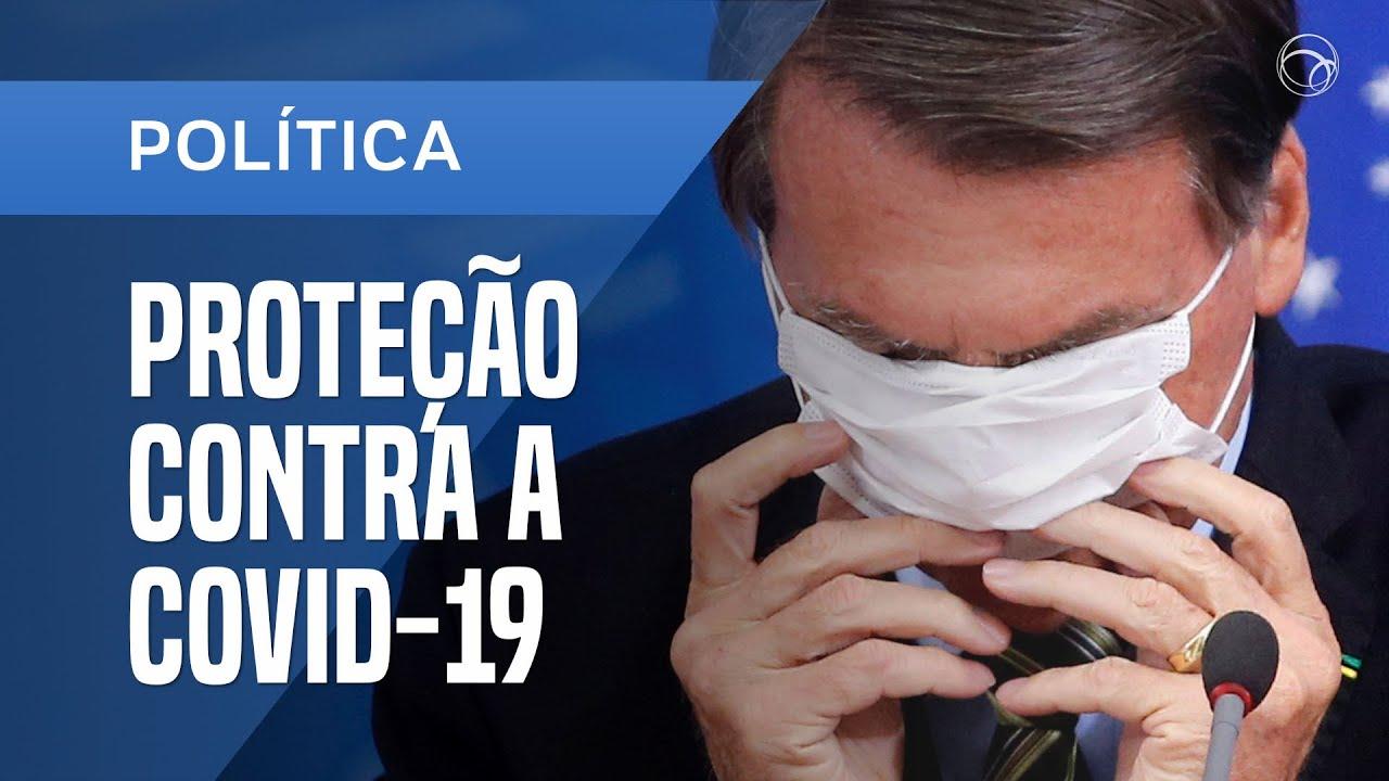 200427 - Bolsonaro Protecao contra a Covid-19 by UOL - La Déviation