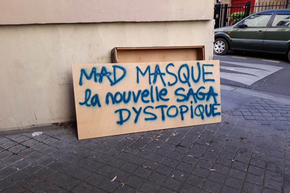 200506 - Mad Masques la nouvelle saga dystopique by Emily Lykos - La Déviation