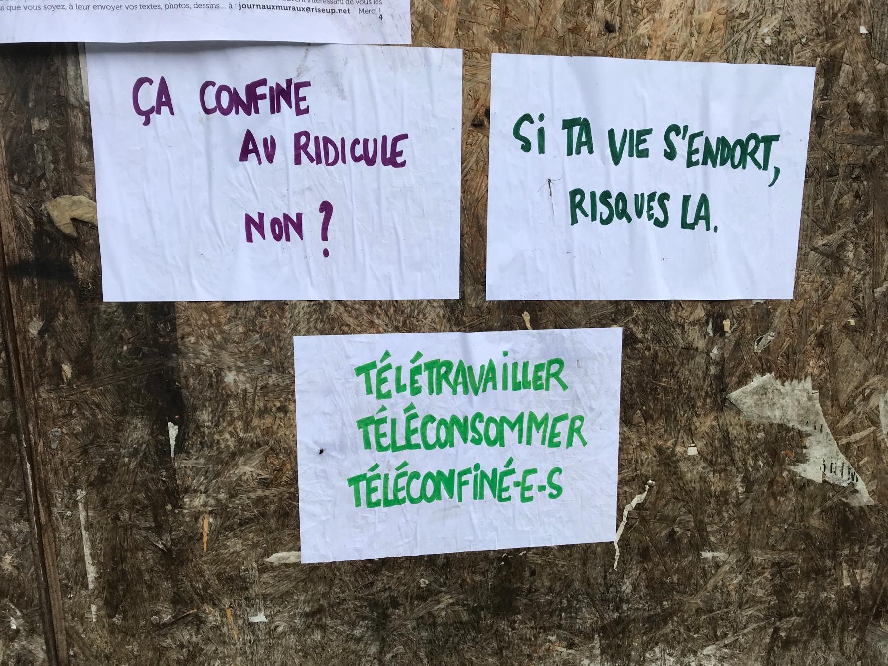 200506 - Sur les murs de Faux-la-Montagne le 1er mai 02 - La Déviation