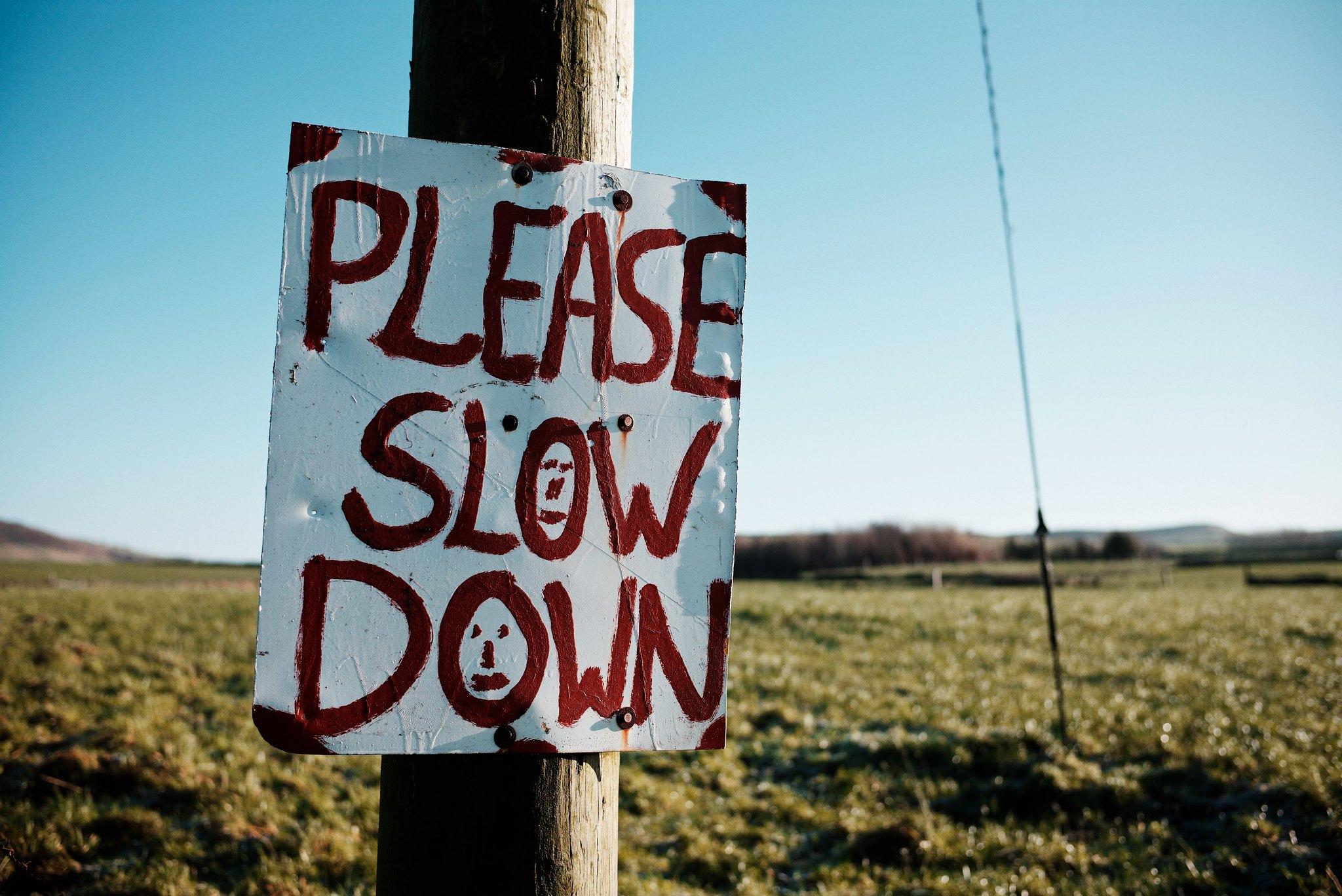 200512 - Please Slow Down by John Reynolds CC BY-NC-ND 2.0 - La Déviation