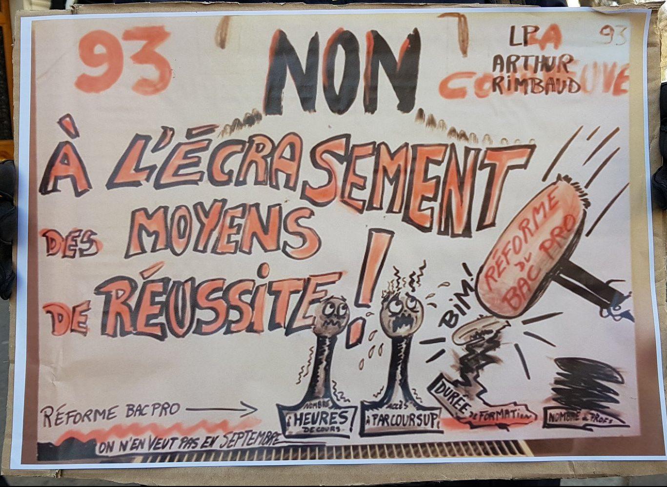 200528 - Manifestation Paris éducation 14 décembre 2018 by La Chouette - La Déviation