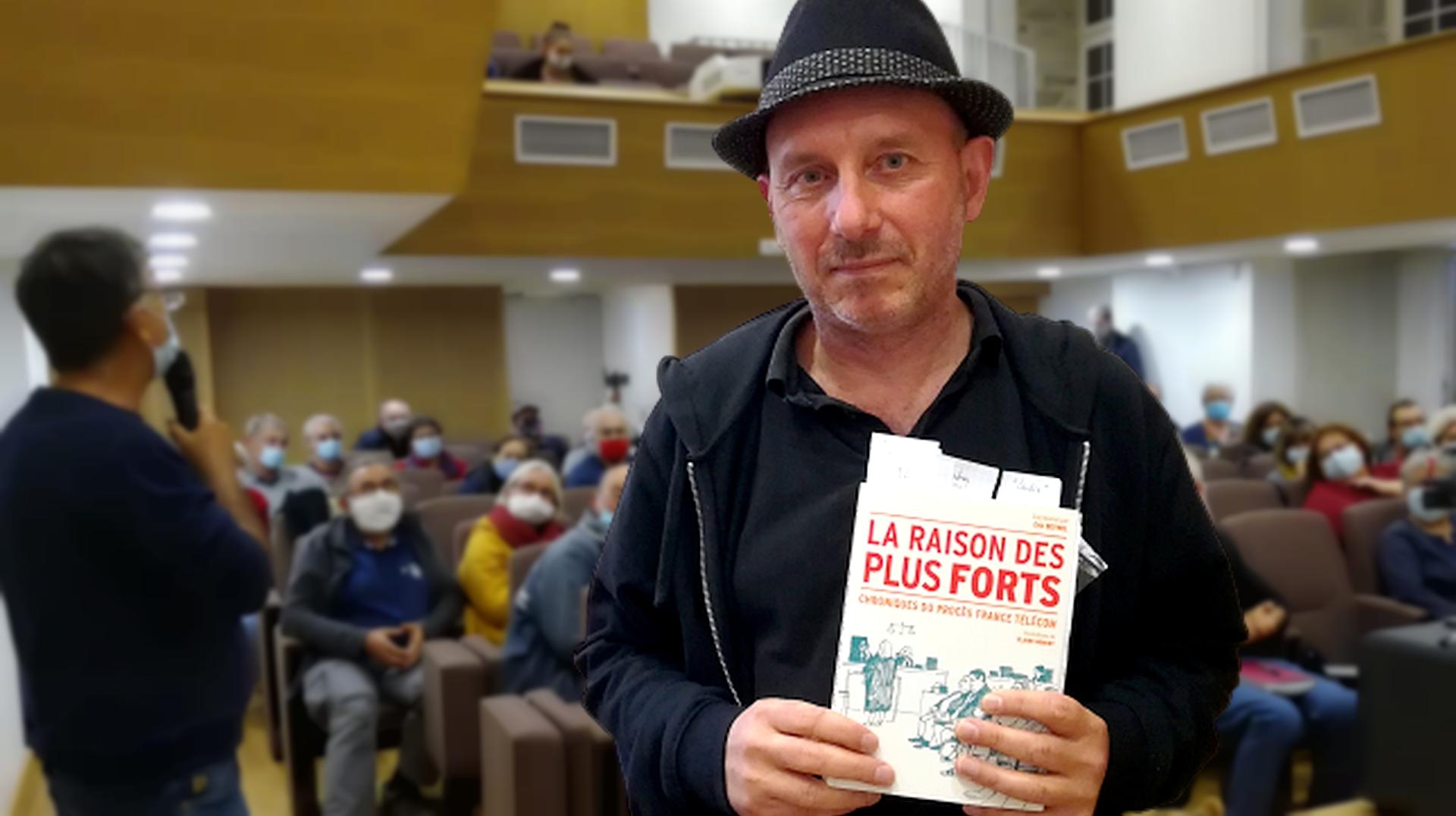 200928 - Conférence Eric Beynel France Télécom Lannion sans cartouche - La Déviation